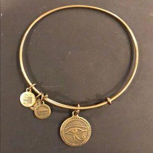 Alex and Ani evil eye bracelet